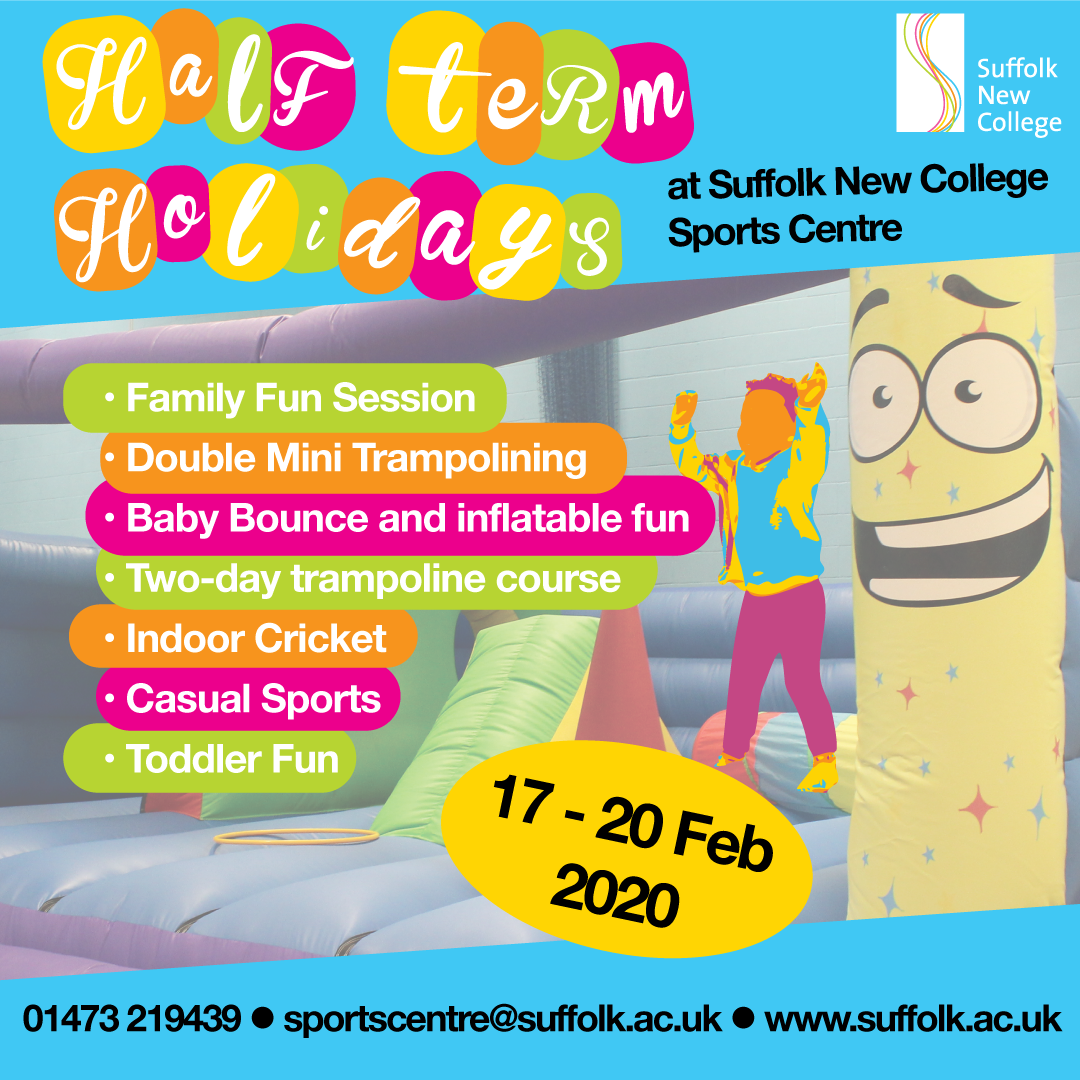 February Half-Term Holidays - click for full schedule
