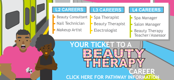 Beauty Therapy Pathway thumbnail - click for further details