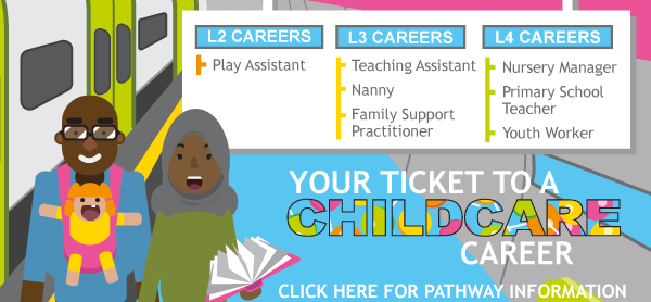 Childcare Pathway thumbnail - click for further details
