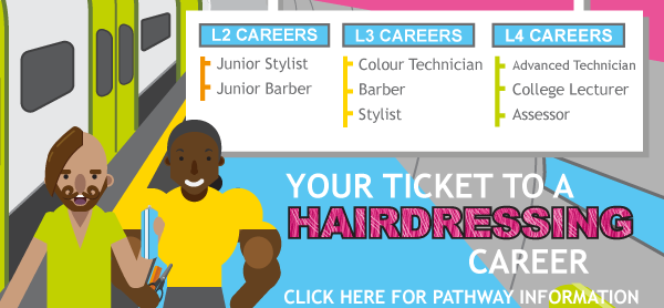 Hairdressing Pathway thumbnail - click for further details